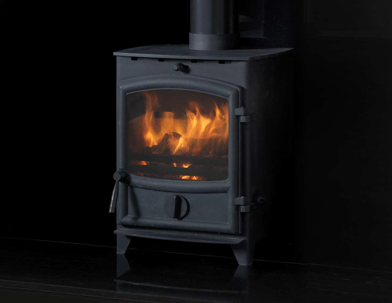 Fireline Steel Multi Fuel Stove Heat Design