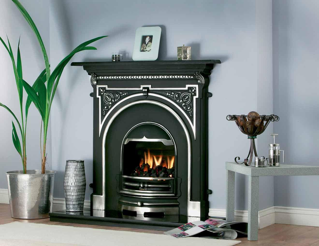 Tara Cast Iron Fireplace Heat Design