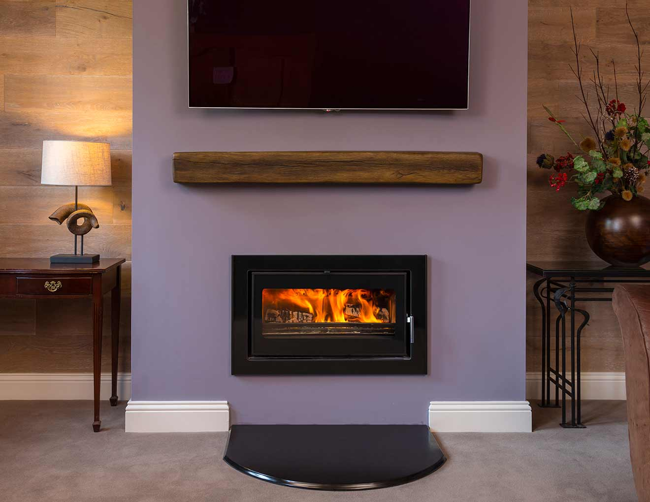 Vitae 8kw Landscape Cassette Stove Heat Design