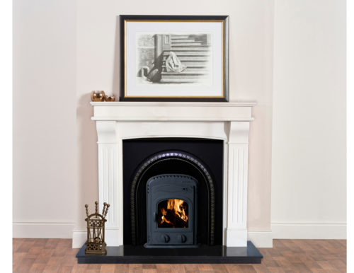Romana-lifestyle-me-Polished-Lombard-Arch-and-5kW-Arched-Insert-Stove